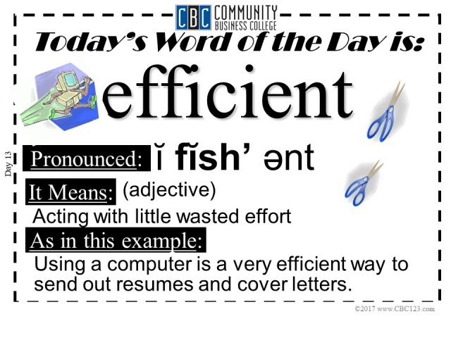 Efficient_CBC123_Word_of_The_Day